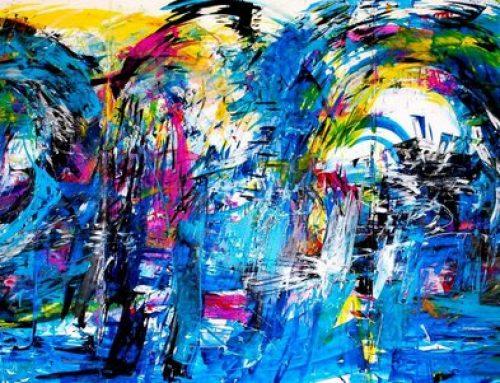 Kunst im Unternehmen – die Farbe Blau