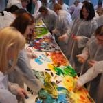 Action Painting Stuttgart - Mitarbeitertag