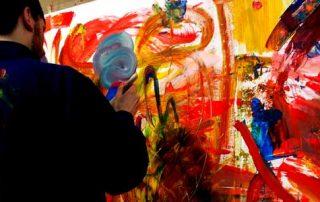 Action Painting Definition - spontan aber nicht planlos