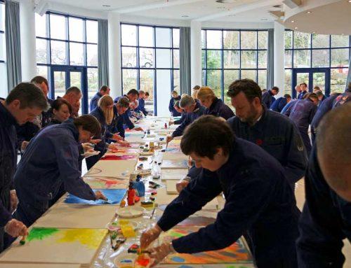 Kreative Aktivität Zukunftskonferenz