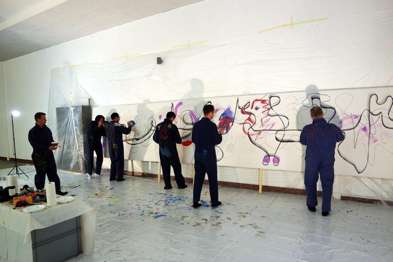 Teampainting: Zukunft gemeinsam malen - Visionen kreativ im Team mit Action Painting entwickeln