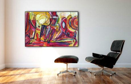 Kunst im Unternehmen Etelka Kovacs-Koller Acrylmalerei