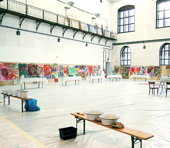 Action Painting Wien