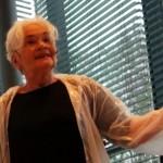 Moderatorin Etelka Kovacs-Koller