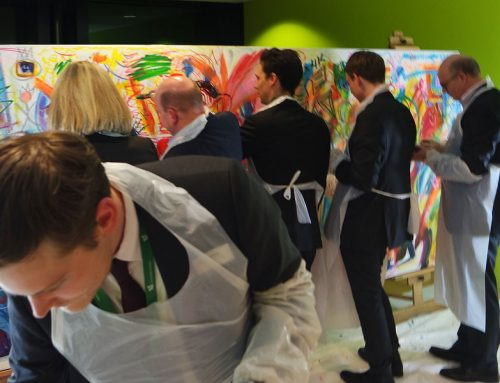 Event Painting HSG St. Gallen