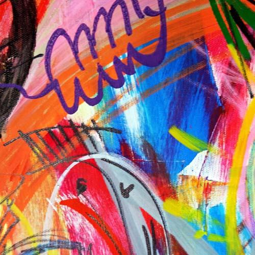 Bildausschnitt Event Painting