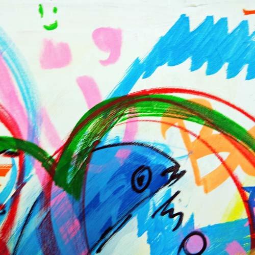 Event Painting Ausschnitt