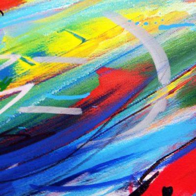 Event Painting Ausschnitt für Teilnehmer