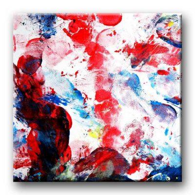 Gemeinschaftsbild - Action Painting Auschnitt
