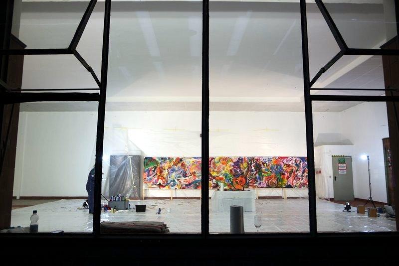 Teampainting Zukunftswerkstatt. Gemeinsam malen und Visionen entwickeln