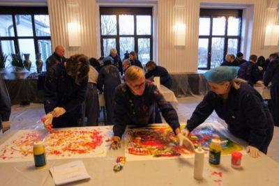 Event für Mitarbeiter -  Malaktion in Mannheim