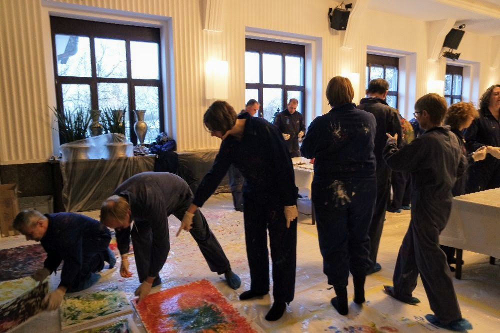 Teambuilding Workshop Kreativlabor in Mannheim
