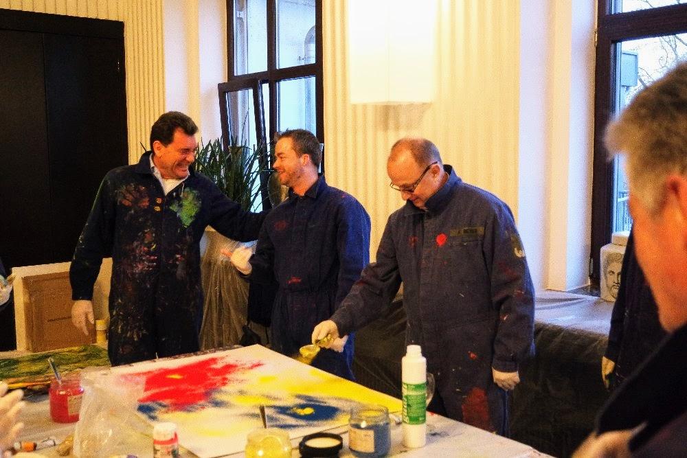 Teampainting Workshop  in Mannheim