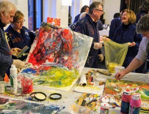 Kreativlabor in Mannheim – Farbe in Bewegung