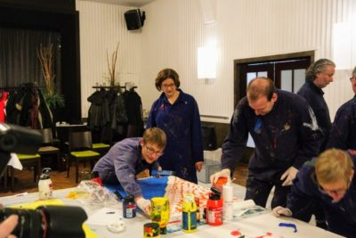 Teilnehmer des Teambuilding Workshops Kreativlabor in Mannheim