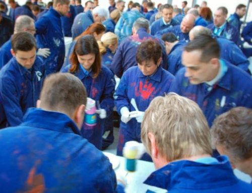 Kick Off – Teampainting in Potsdam
