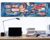 Inspirator Artwork von Etelka Kovacs-Koller - Kunst am Schreibtisch